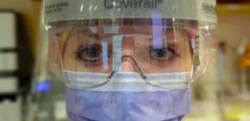 Kristiina, an Esto on the front line at Toronto Western Hospital